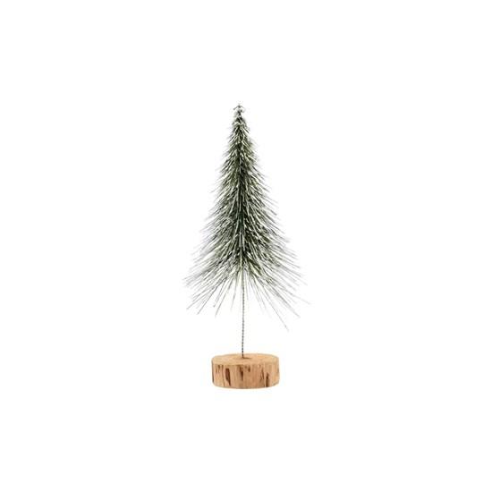 Dekorace vánoční strom SPINKLE 30 cm, zasněžený_3
