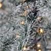 Svítící vánoční strom FLOCKED 70 LED /100 cm zasněžený_0