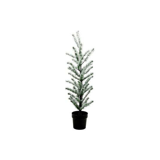 Svítící vánoční strom FLOCKED 70 LED /100 cm zasněžený_2