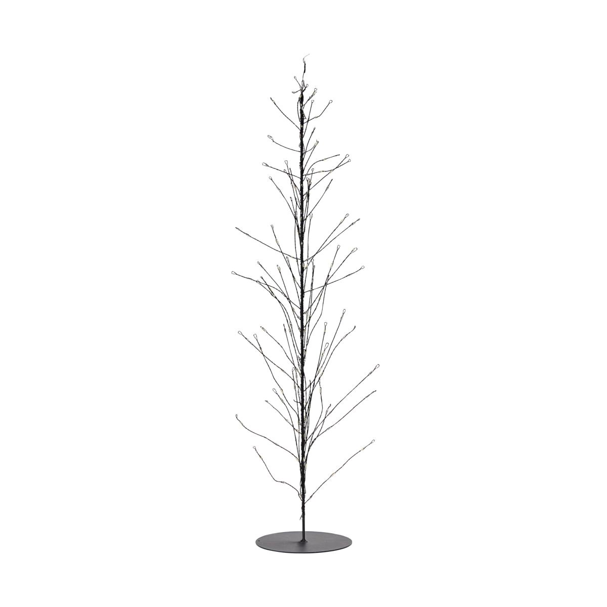Svítící drátěný strom GLOW s časovačem 60 cm černý_3
