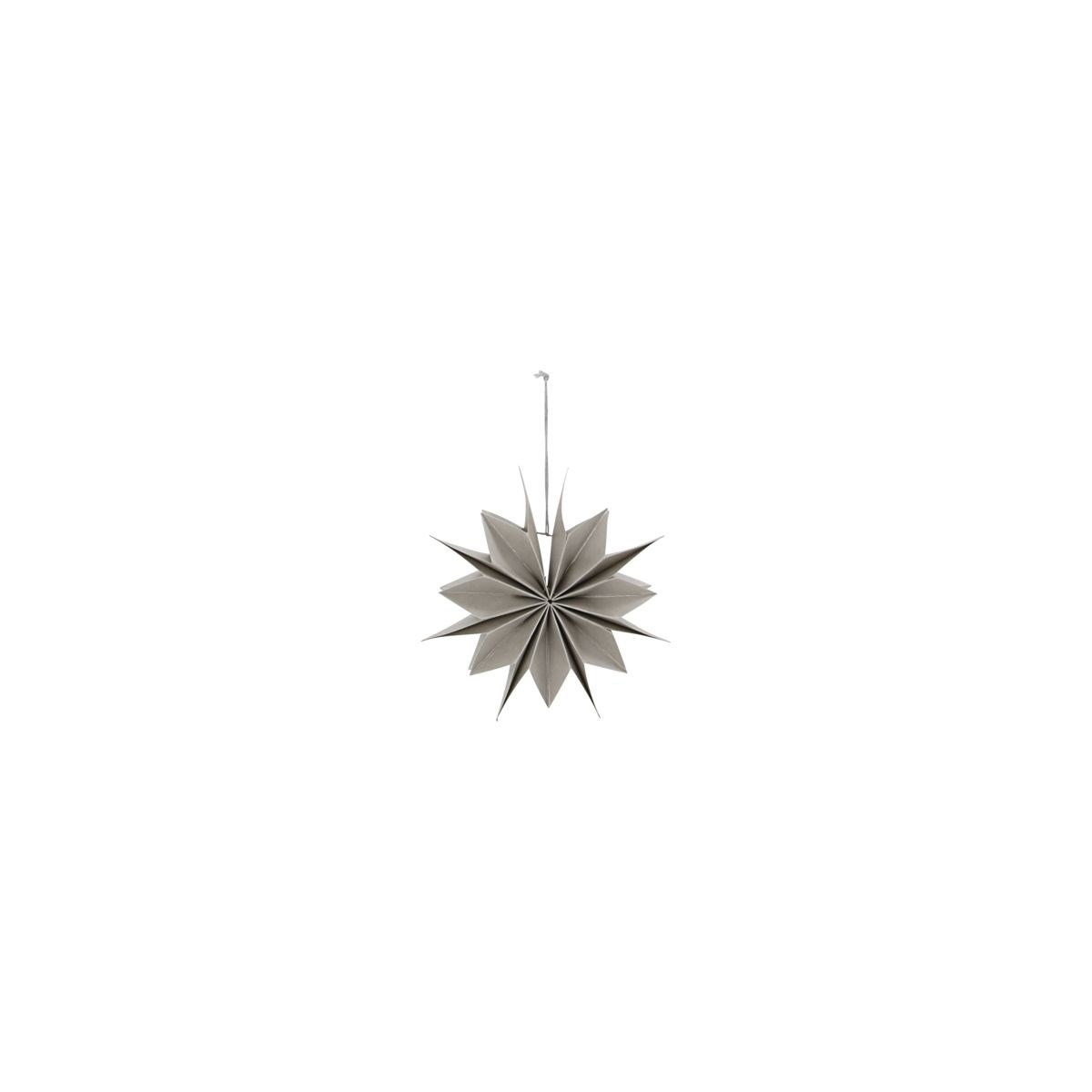Obrázek z Papírová 12cípá hvězda CAPELLA 20 cm perleťová