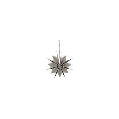 Obrázek Papírová 12cípá hvězda CAPELLA 20 cm perleťová