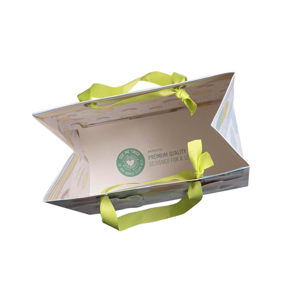 Kvalitní dárková taška 20x20x11 cm 3D/Hasen/Luftballons_0