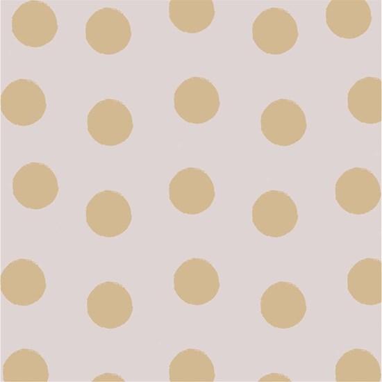 Papírové ubrousky 33x33 cm BAL/20ks Dots gold taupe_0