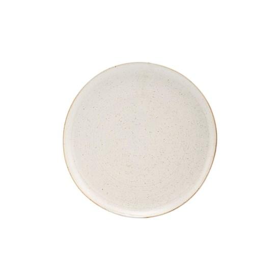 Dezertní talíř PION 21,5 cm šedobílý_2