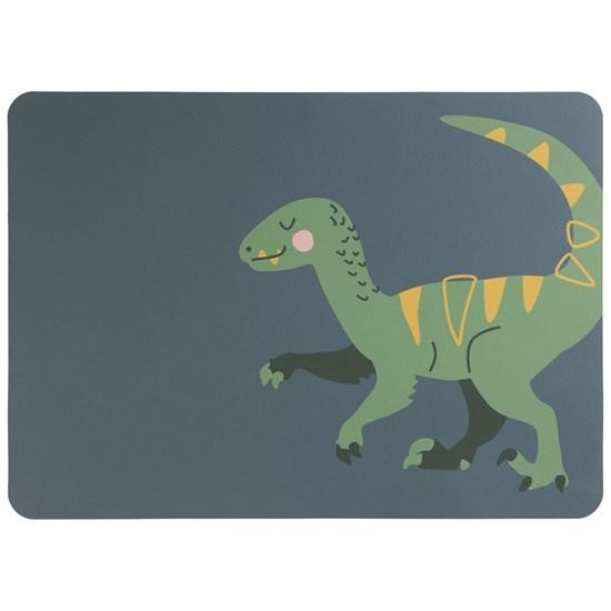 """Prostírání """"Velociraptor Vinc"""" 33x46 cm, modrá_0"""
