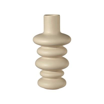 Váza COMO 18 cm, krémová_0
