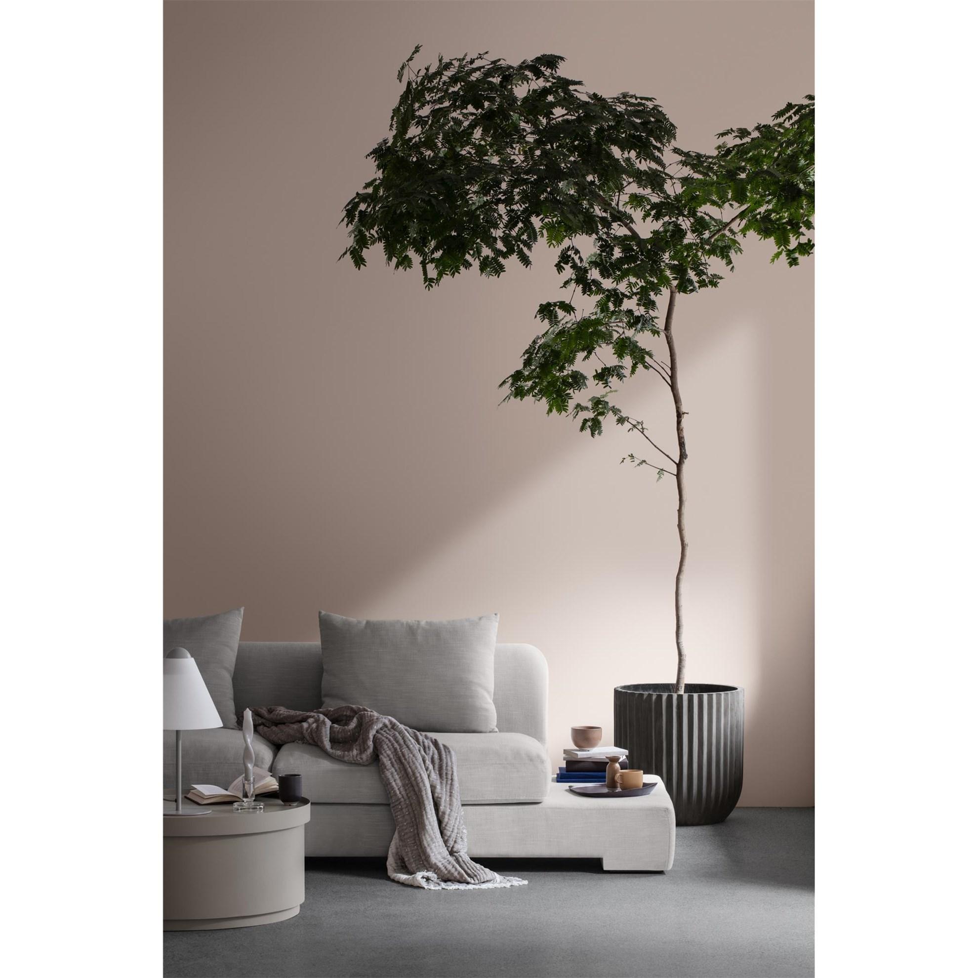 Sofa 2-místná BAY 250 cm krémová (bočnice vlevo)_1