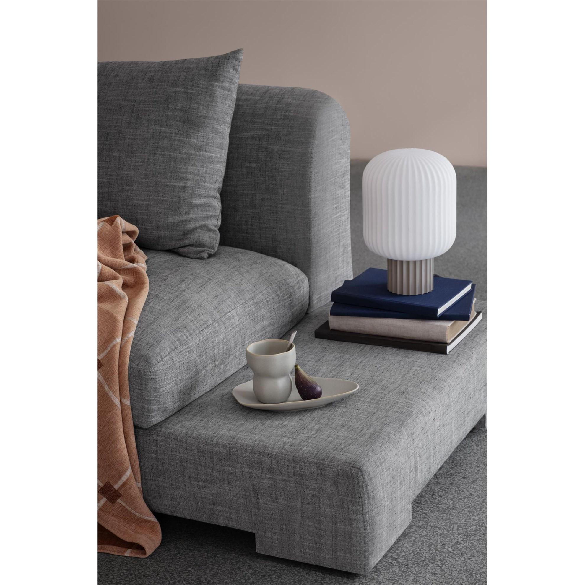 Sofa 2-místná BAY 250 cm šedá (bočnice vpravo)_0