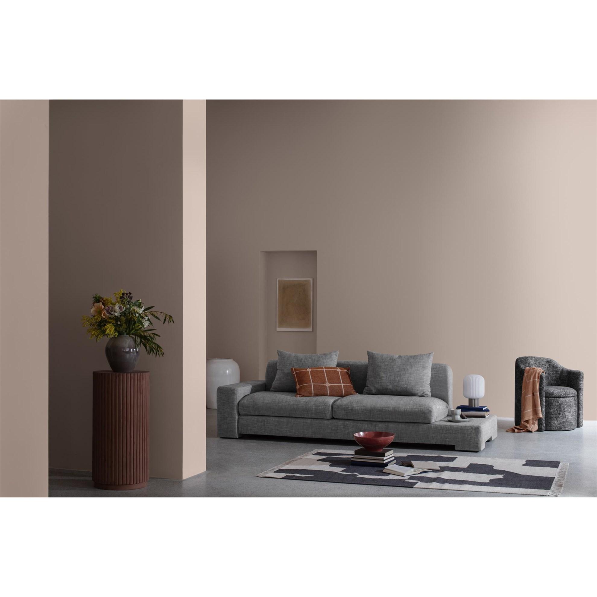 Sofa 2-místná BAY 250 cm šedá (bočnice vpravo)_1