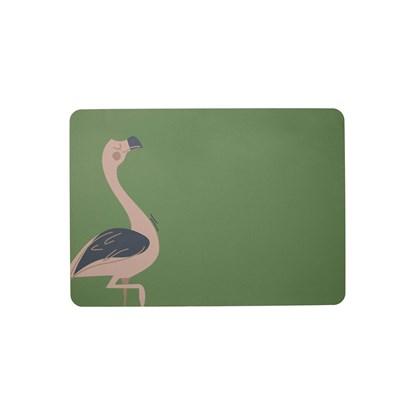 """Prostírání """"Fiona Flamingo"""" 33x46 cm, zelená_0"""