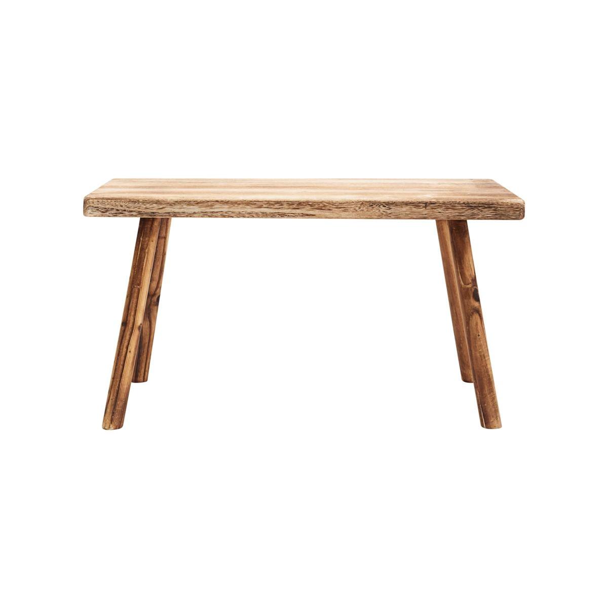 Dřevěná lavice /stolička NADI 81 cm_1