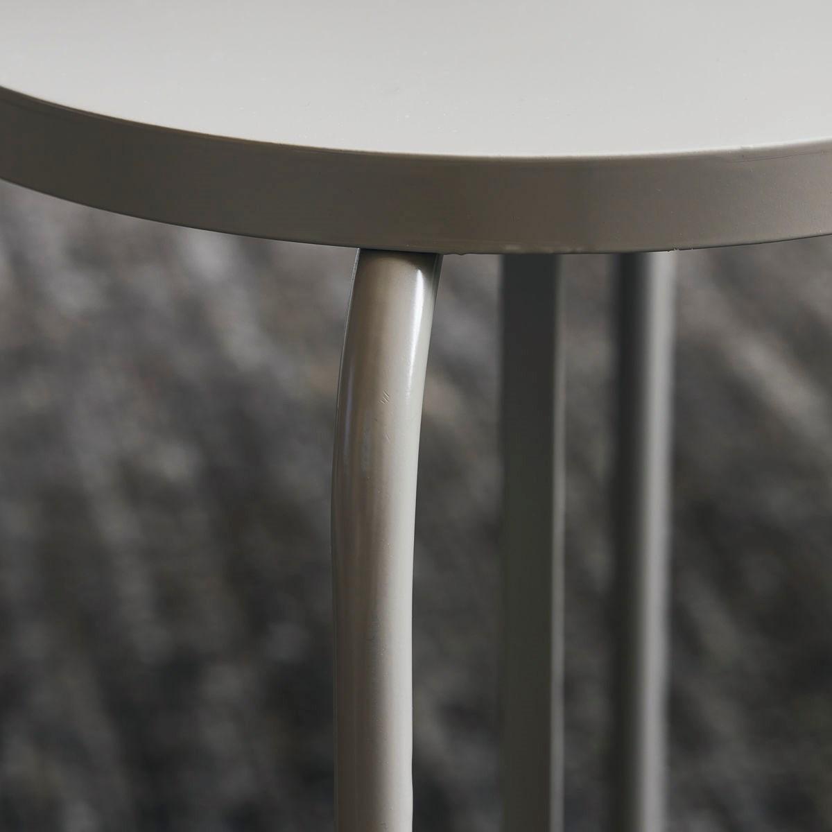 Kovová stolička SHAKER šedá_1
