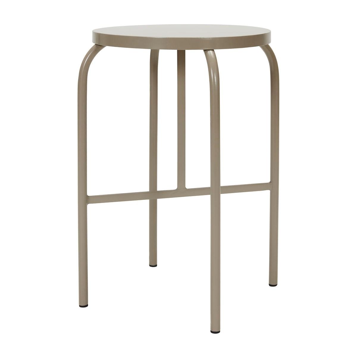 Kovová stolička SHAKER šedá_3