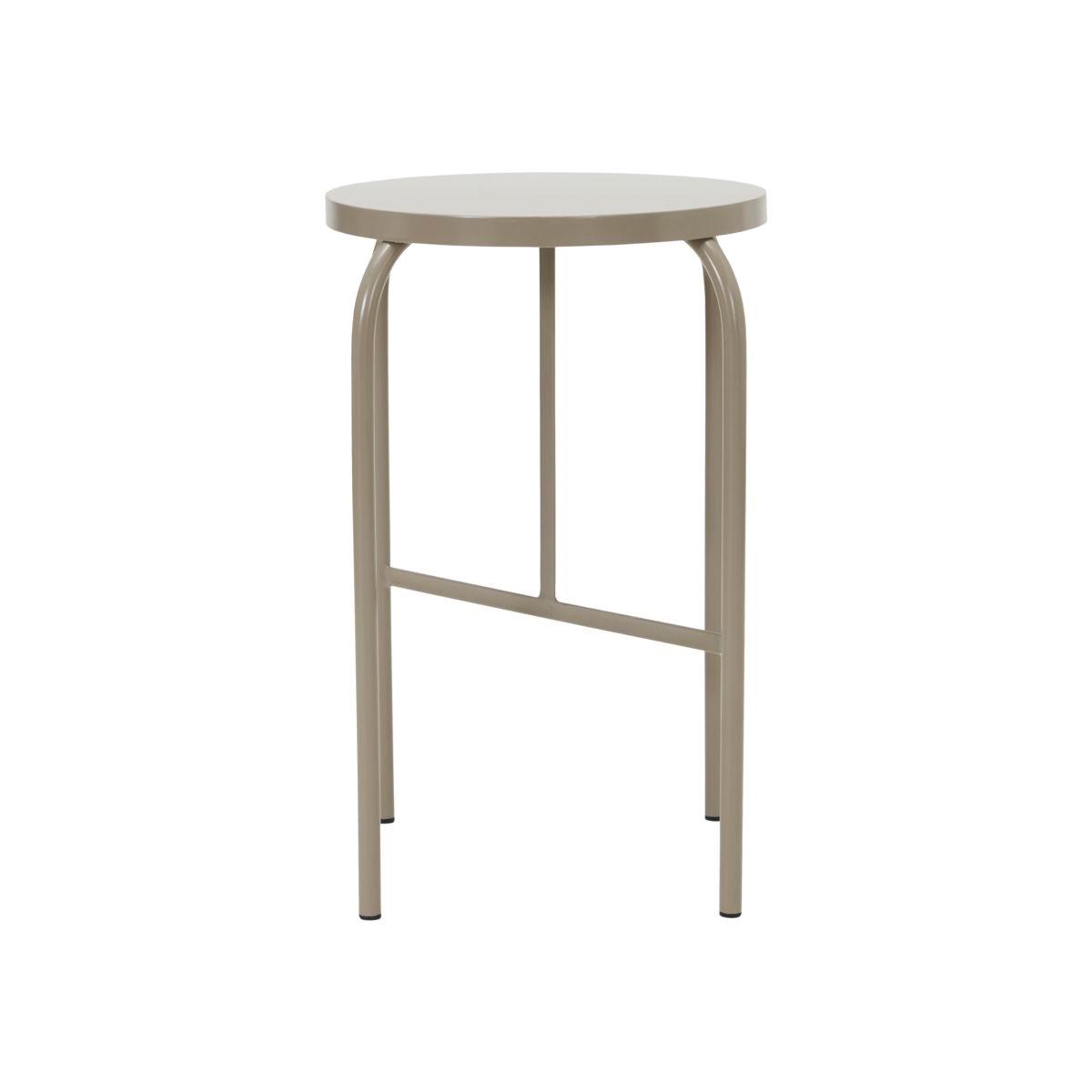 Kovová stolička SHAKER šedá_4