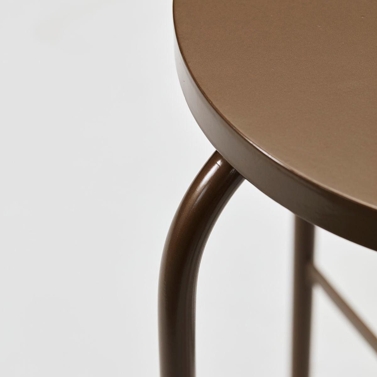 Kovová stolička SHAKER zlatohnědá_2