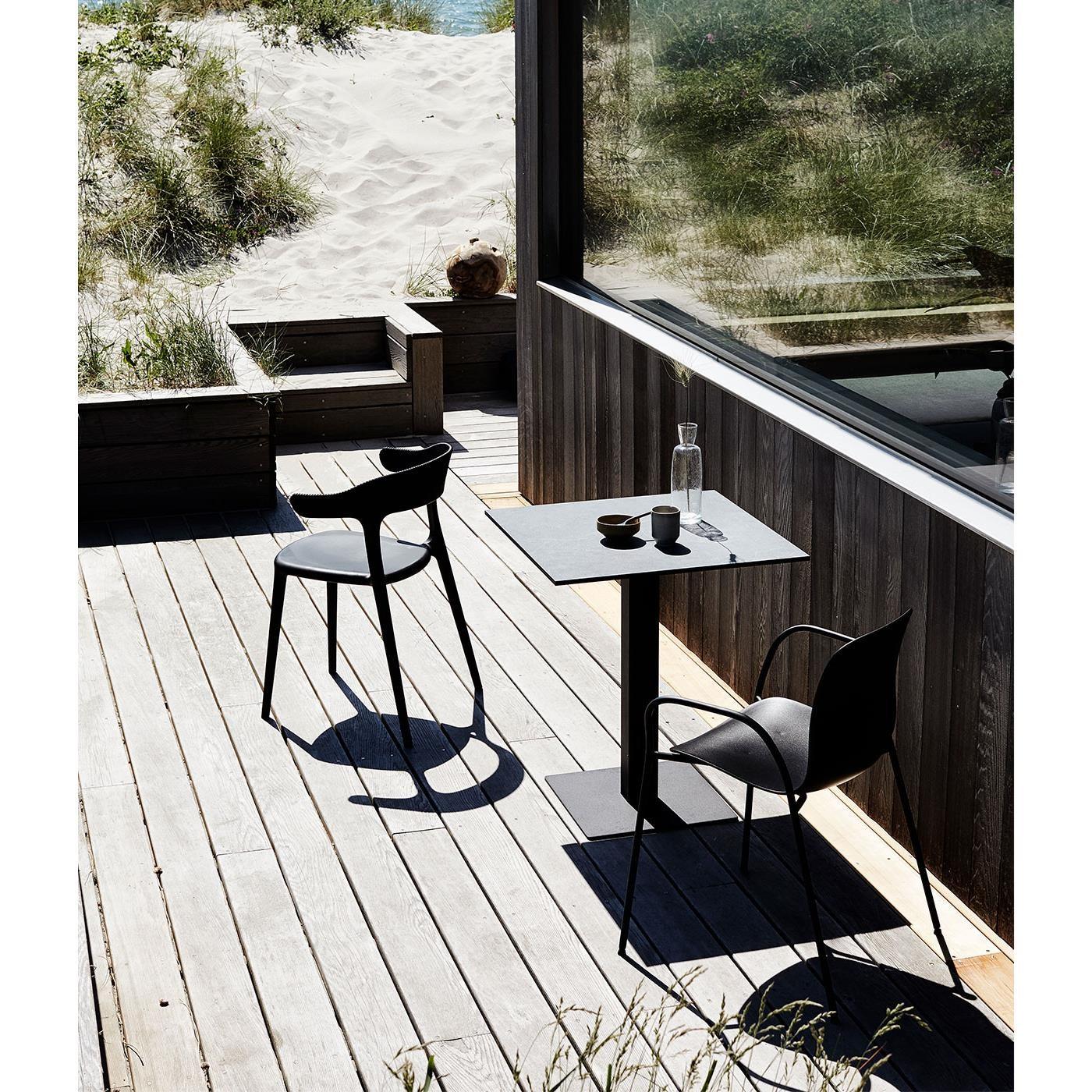 Jídelní židle Luna Stripe černá_1