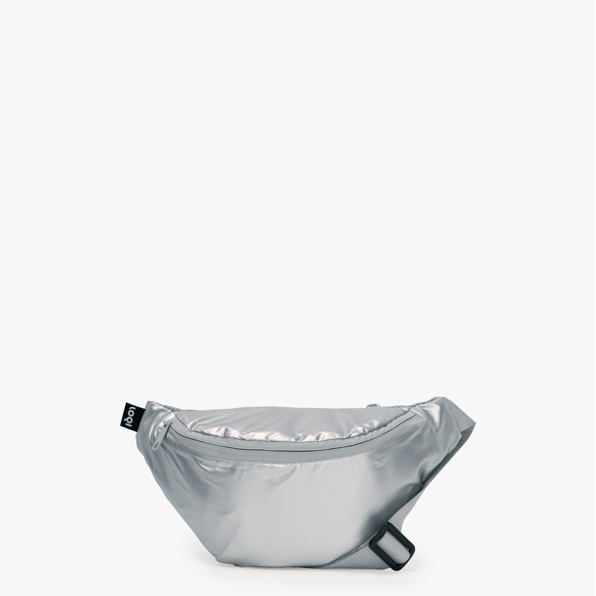 Ledvinka LOQI - BUMBAG METALLIC Silver_0